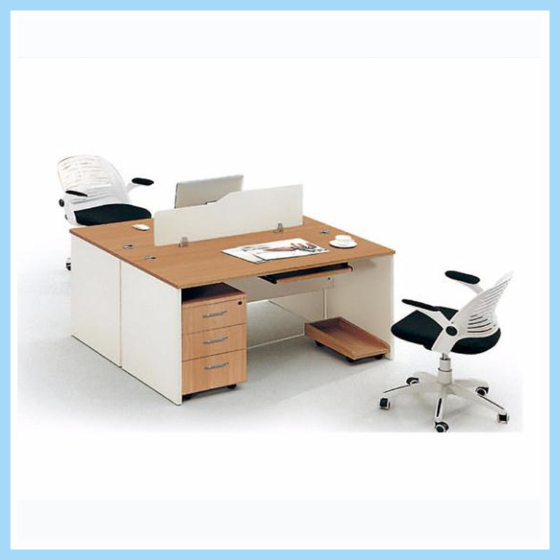 China Modern Small Office Table Design Staff Office Workstation Cubicle For 2 Seater China Workstation Staff Table
