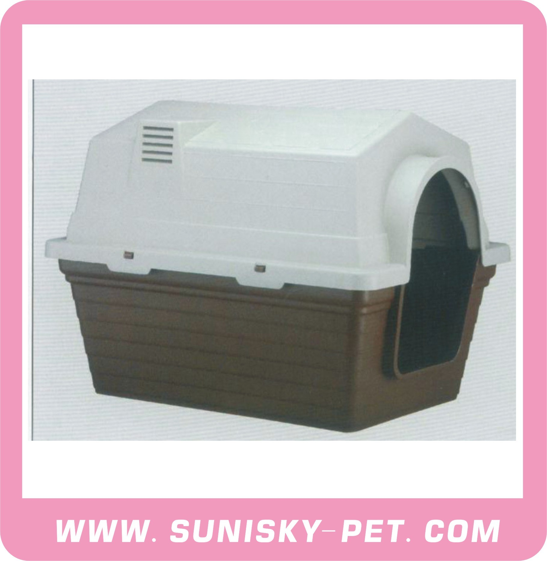 Plastic Dog House (SDH-M)