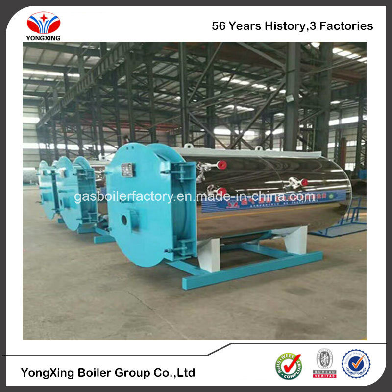 China Industrial Steam Hot Water Boiler System, Horizontal Gas Fired ...