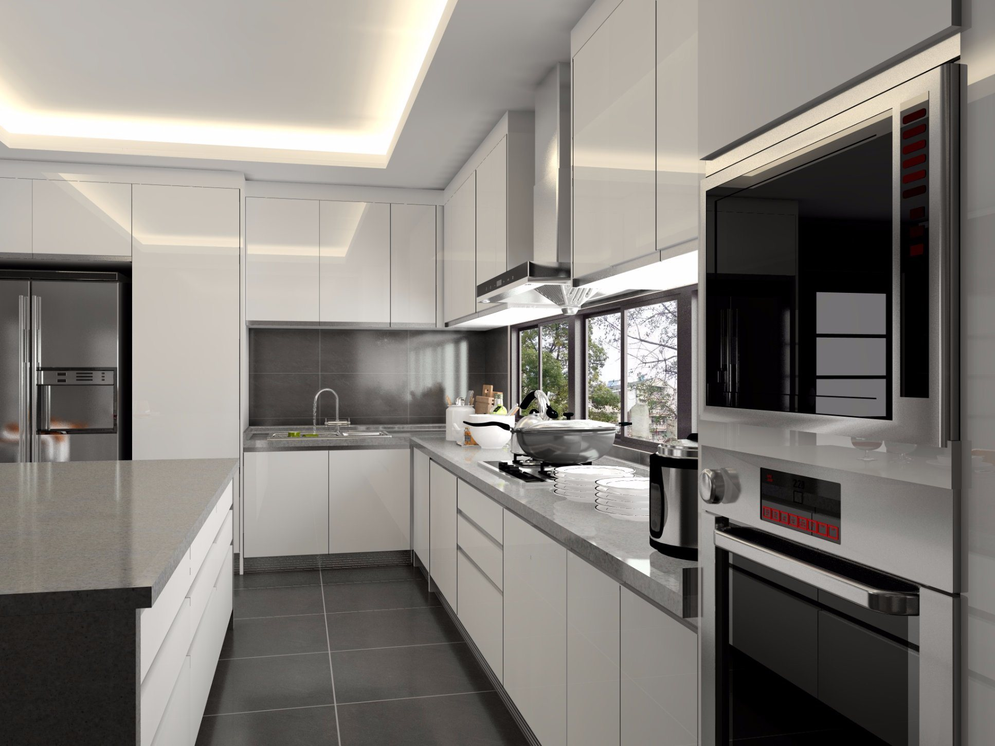 China High Quality Modern Cabinets Design Modular Kitchen Cabinet Photos Pictures Made In China Com