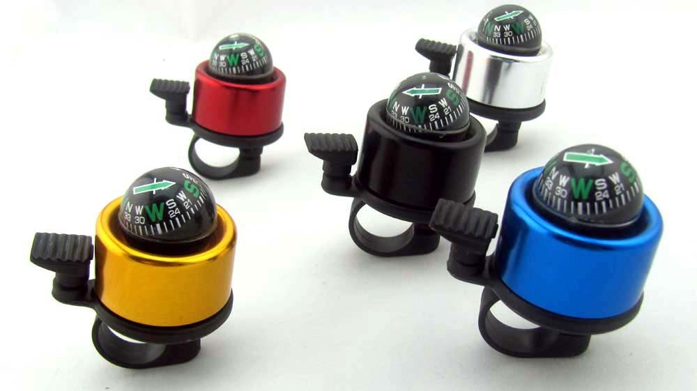 Bell with Compass Promotion Aluminium Bicycle Bell