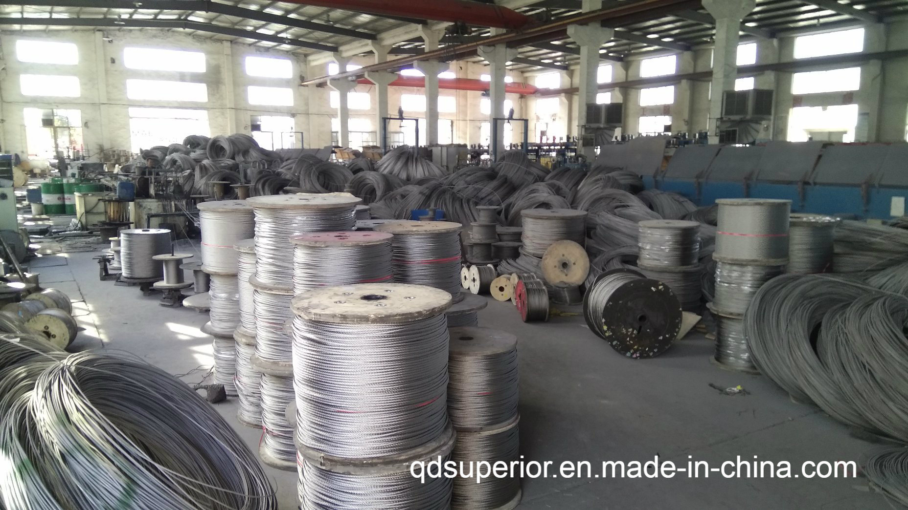 China Galvanized Steel Wire Rope Cable (6X36 Iwrc) - China Wire Rope ...