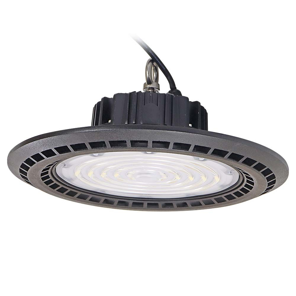 Interior Highbay Light Fixture Warehouse Lighting Waterproof 130lm/W 150lm/W Sensor 250W/200W/100W/60W/150W Industrial UFO LED High Bay Light pictures & photos