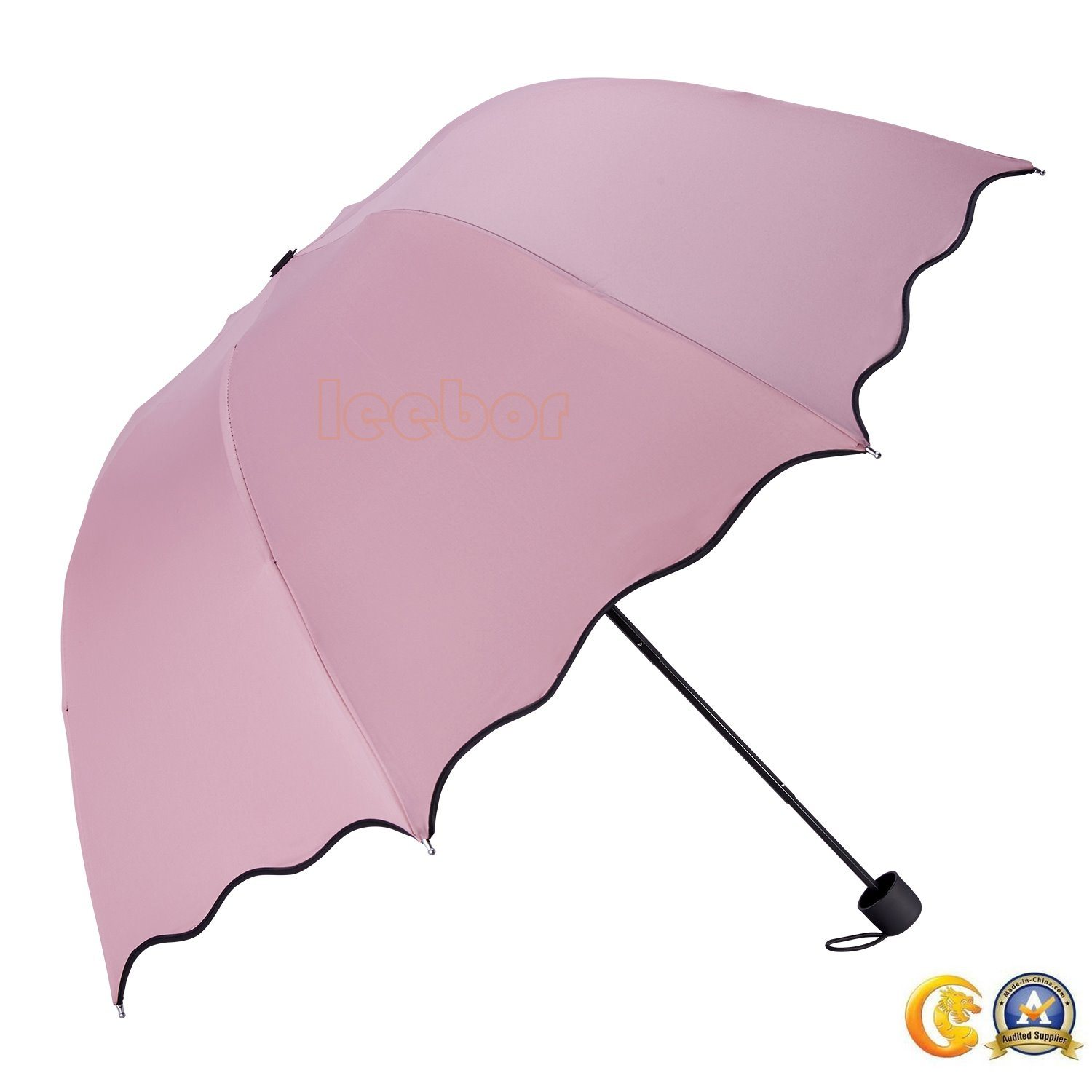 965b048be0a1c China Hand Held Best Sun Arch 3 Folding Umbrella for Ladies - China Umbrella,  3 Folding Umbrella