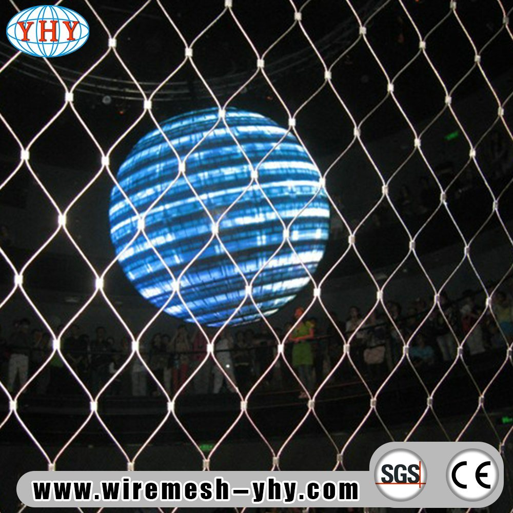 China Stainless Steel Woven Rope Wire Mesh - China Wire Mesh, Zoo Mesh