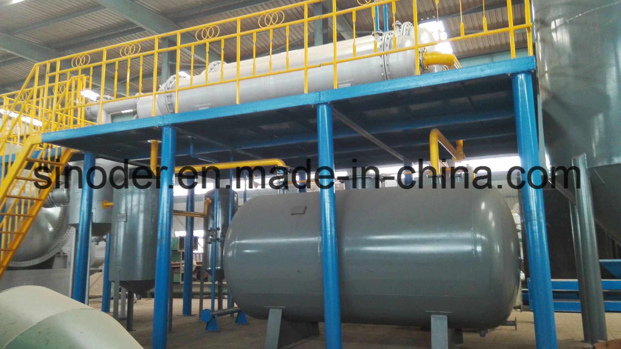 [Hot Item] New Designed Fuel Oil Distillation System Tyre Oil Refinery  Machine to Diesel Plastic Oil Distillation Plant