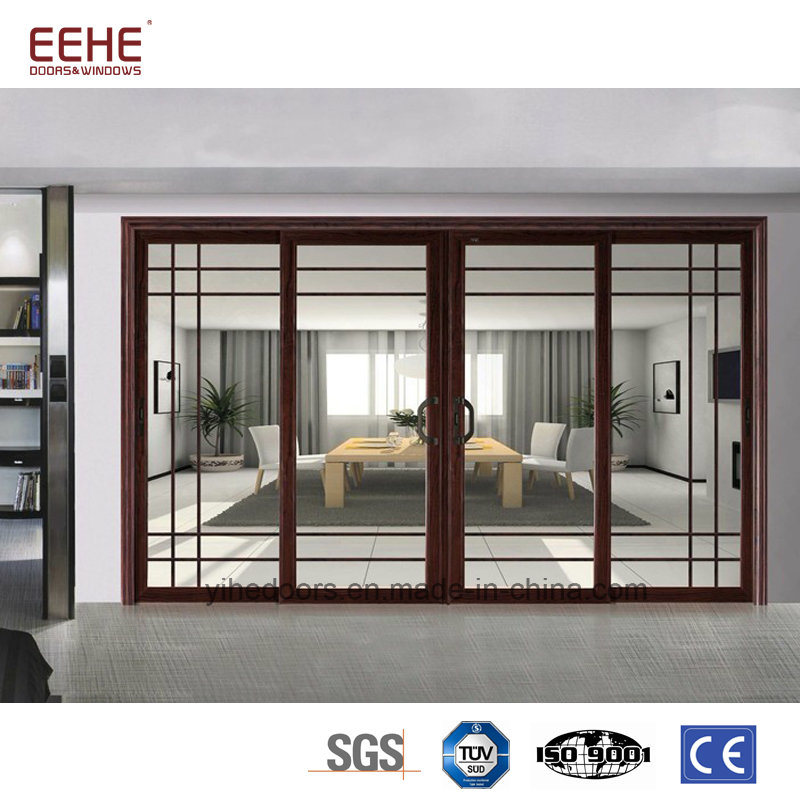China Low E Glass Aluminium Glass Sliding Doors China Aluminium