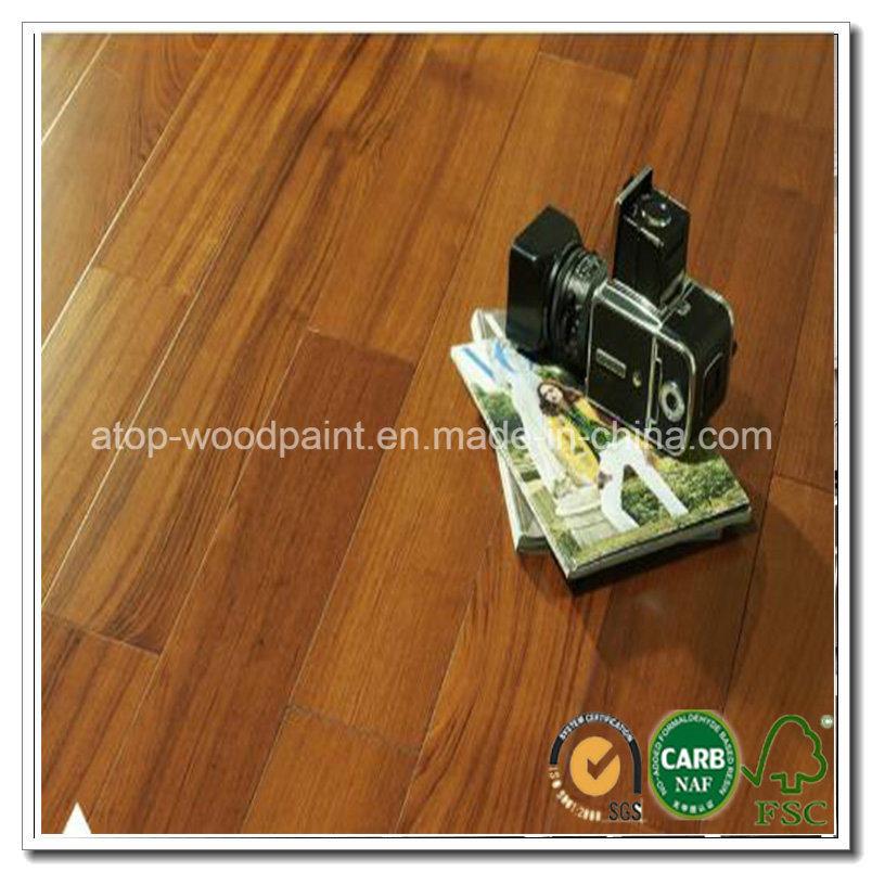China Burma Teak Floor Toplayer Wood Veneer Lamellas For Engineered