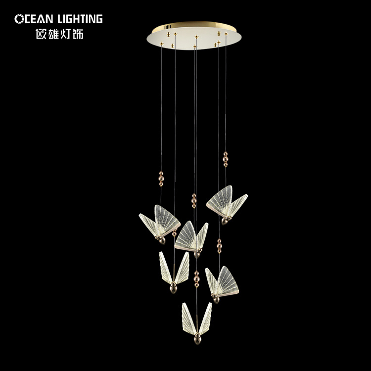 Hot Sale Modern Chandelier Interior Lighting Crystal Pendant Lamp