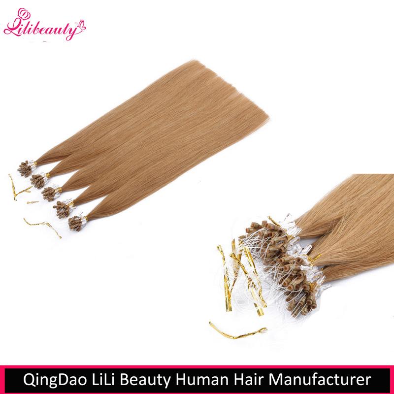 China 8a Grade Brazilian Virgin Hair Micro Loop Hair Extensions