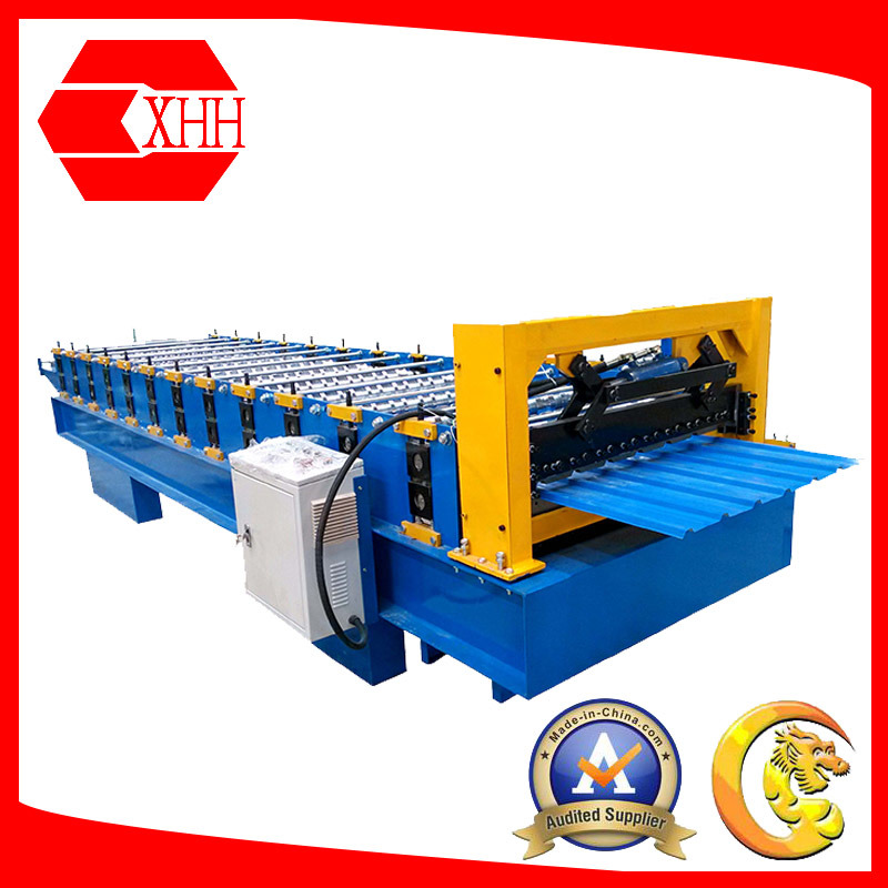Yx13.7-145.8-875 Roof Tile Roll Forming Machine