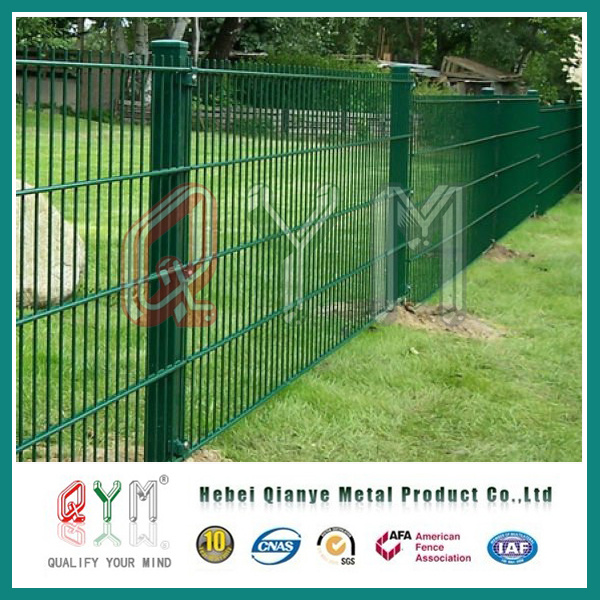 China Double Wire Fence Anti Climb Fence2D Double Loop Wire Fence