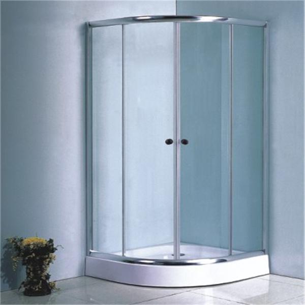 Chromed Aluminium Simple Shower Units