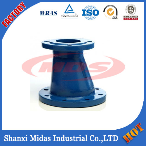 Ggg50 Ductile Cast Iron Pipe Fiitting Double Flanged Reducer