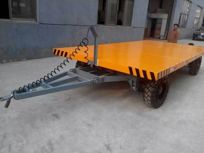 Towed Industrial Flat Trolley for Welding Shop (KP) pictures & photos