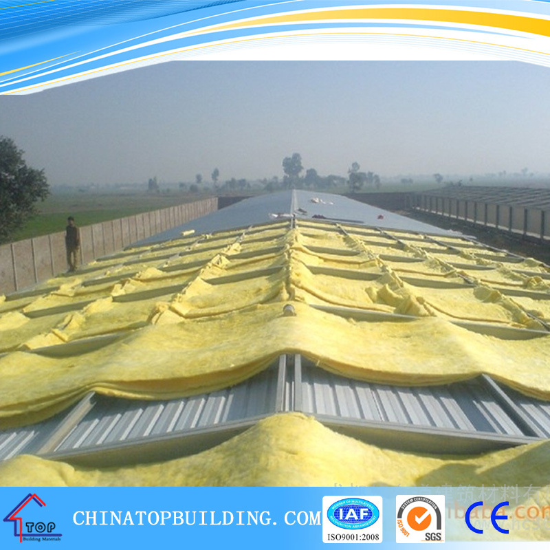 Foil-Clad Glass Wool Board / Blanket for Ceiling and Drywall