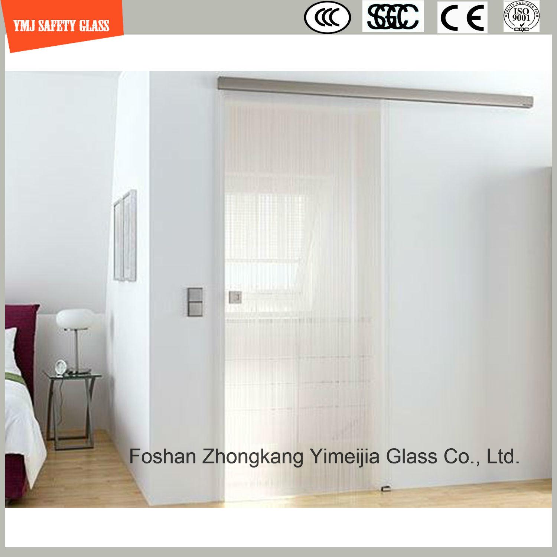 China 4 19mm Anti Fingerprint Acid Ethced Tempered Glass Shower