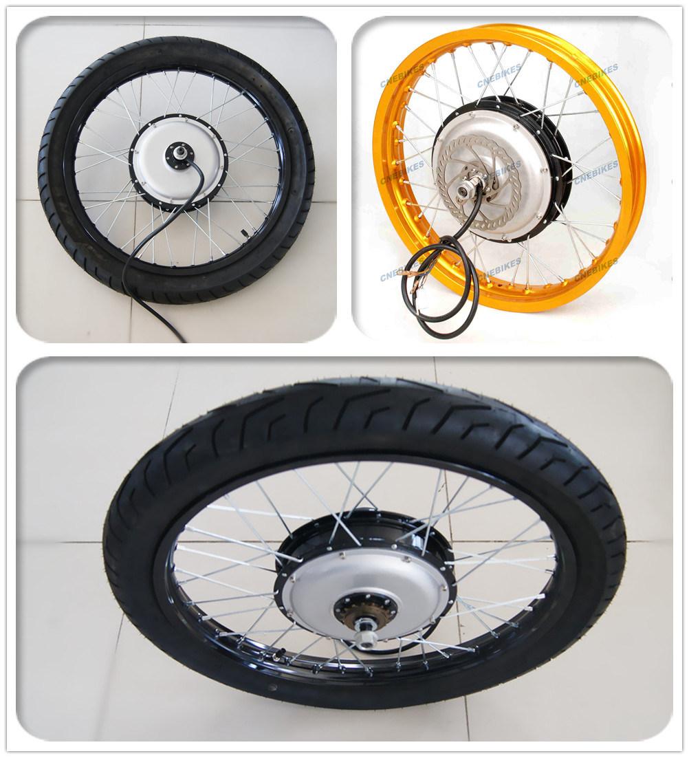 [Hot Item] Electric Bike Kit 5000W Hub Motor for Motorcycle