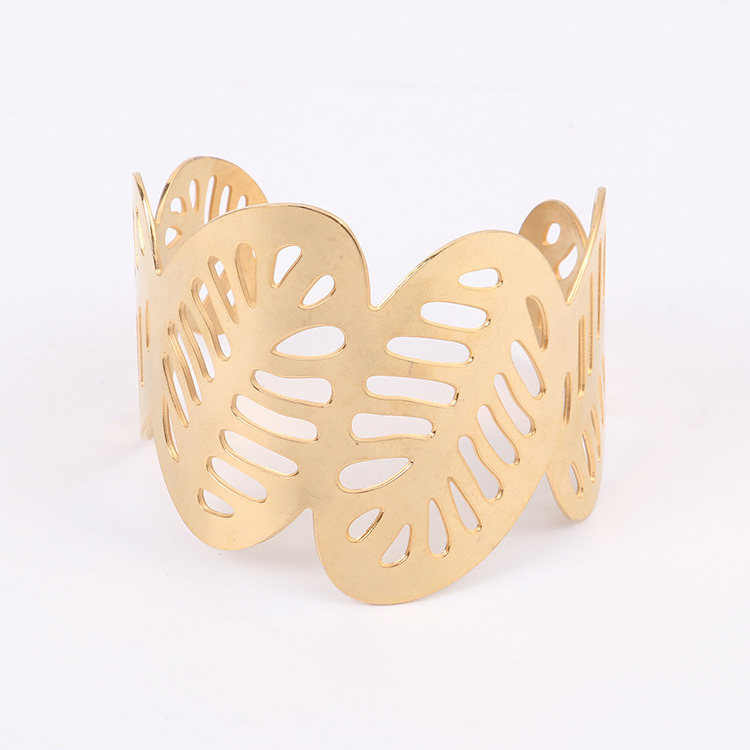 yellow royal gold wedding item chain bracelet filled women feather bangle phoenix s hollow alluvial