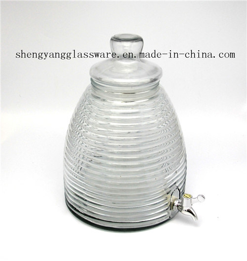 035c61270f8 China Hot Sell Glass Wine Storage Jar Juice Jar with Tap Photos ...