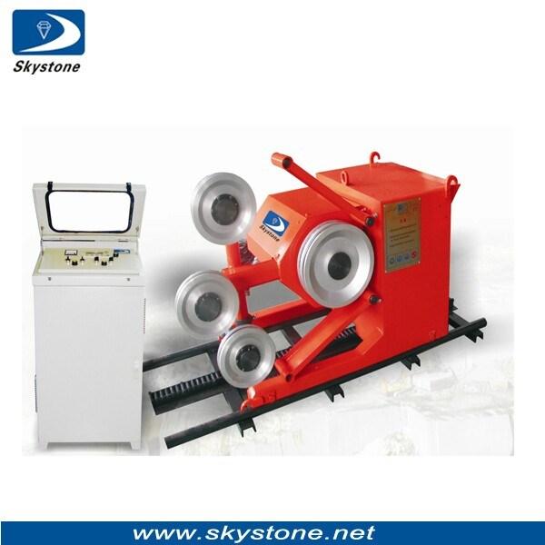 China Diamond Wire Saw Machine for Concrete Cutting, Wire Saw ...