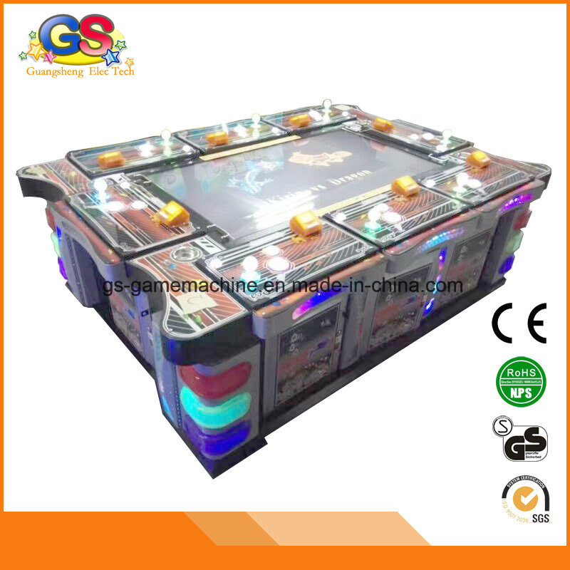 Arcade Gambling Hunting Fish Table Fishing Shooting Game Machine pictures & photos