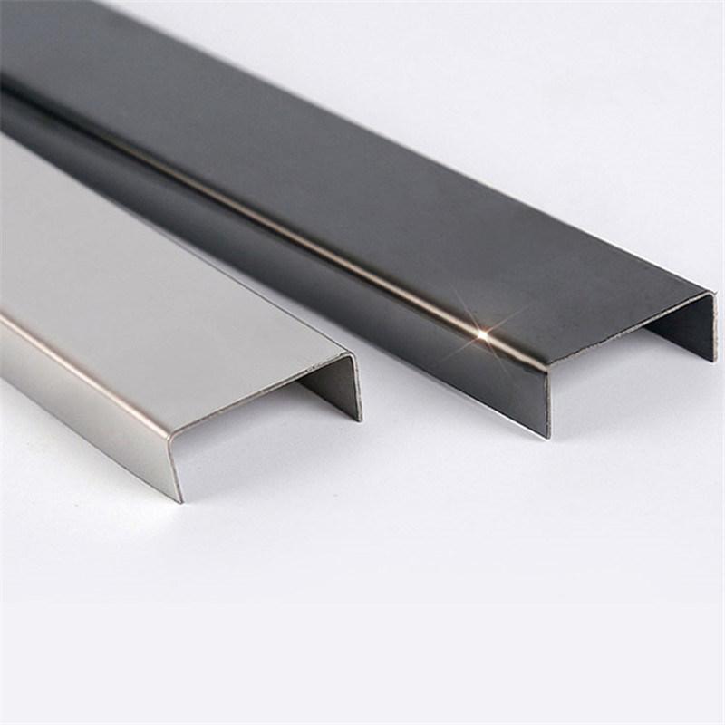 China Foshan Ceramic Tile Corner Trim Stainless Steel Profile C