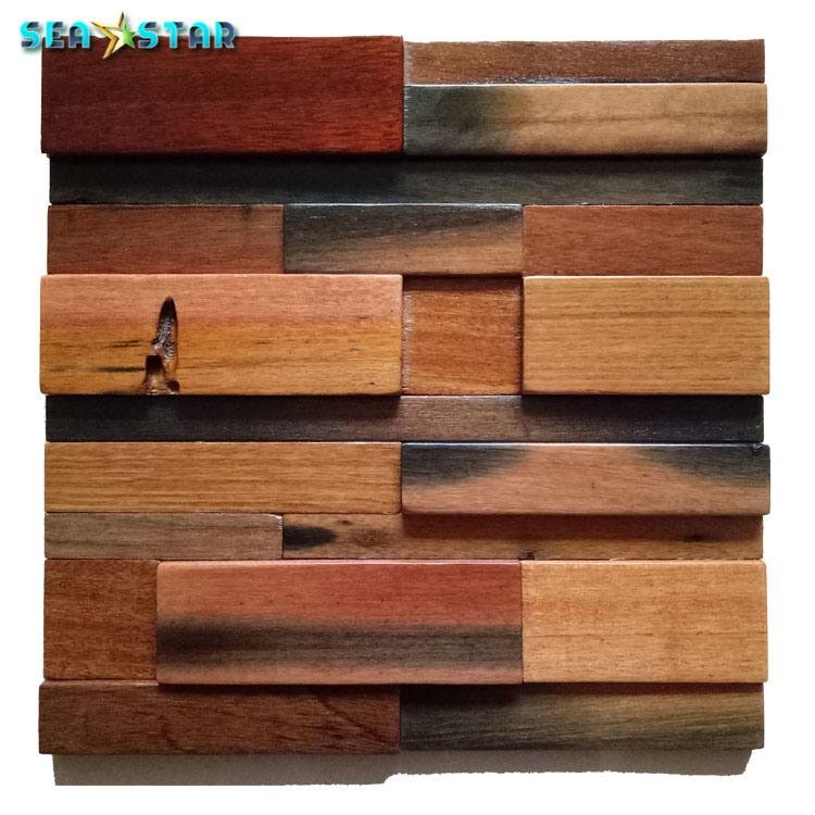 Modern Design Reclaimed Wood Wall Panel