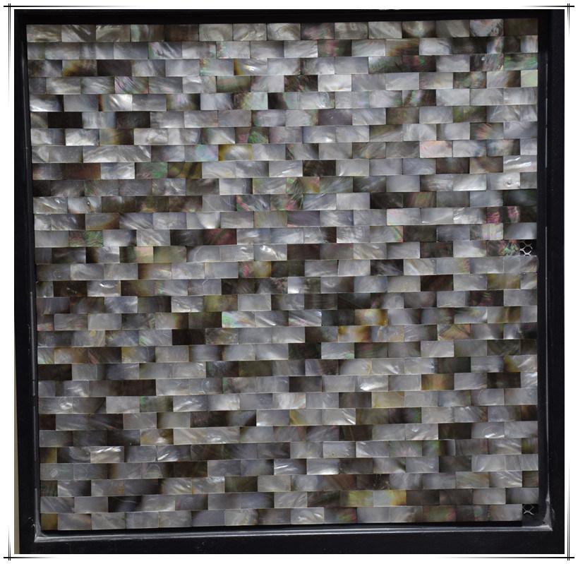 China Natural Shell Mosaic Wall Tile