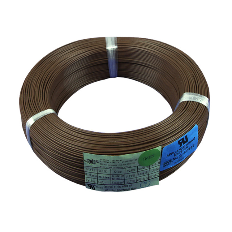 China Heat Resist AWG 20 24 PTFE Teflon Insulated UL Wire Photos ...