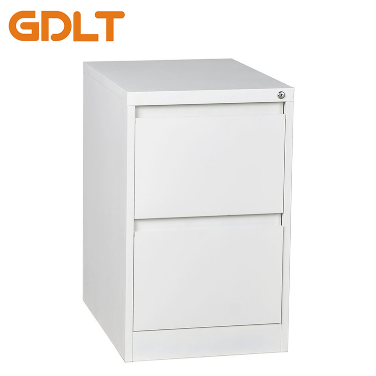 Hot Item Metal Office Furniture Godrej 2 Drawer Design Vertical Steel Filing Cabinet