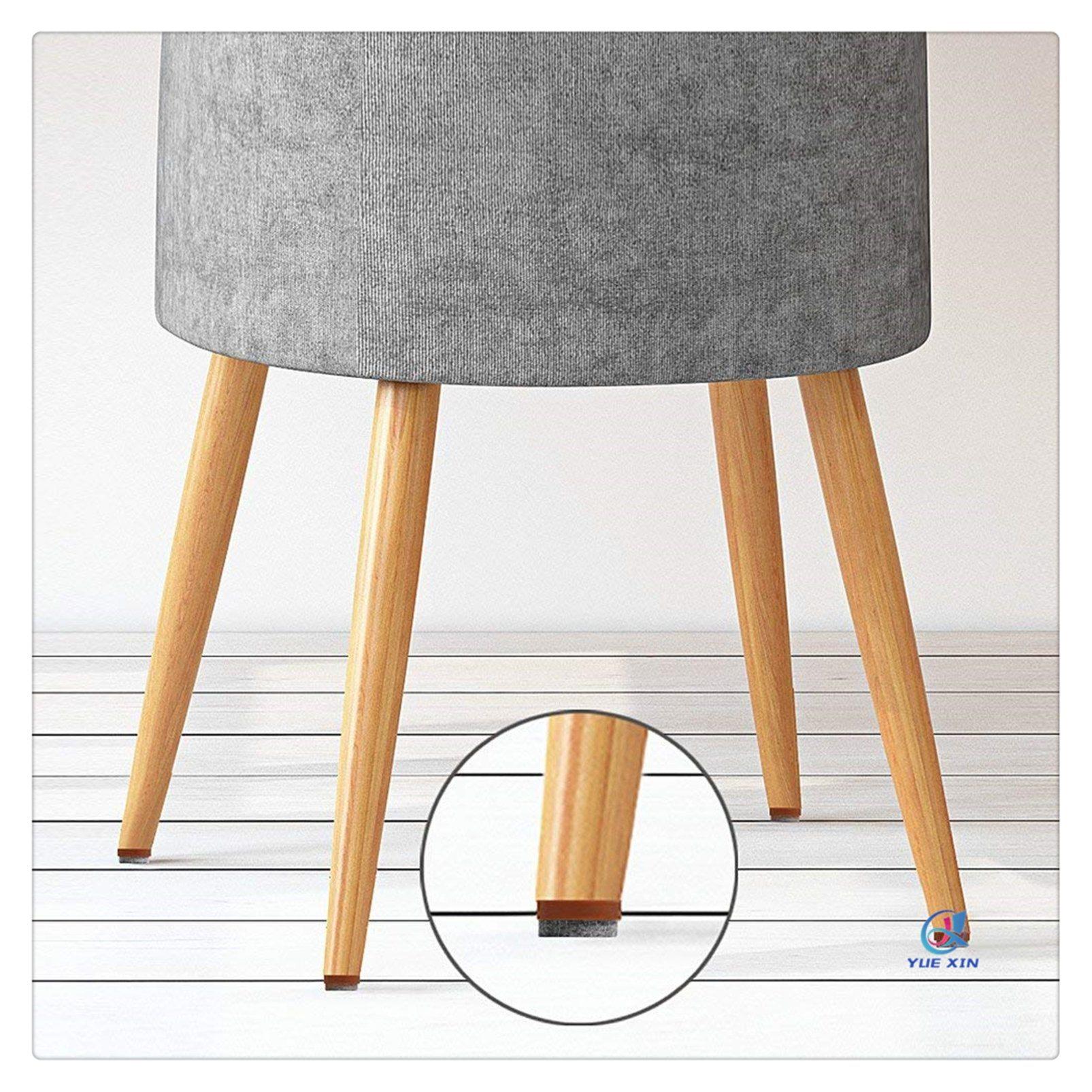 China Self Stick Furniture Circle Felt Pads Anti Scratch Floor