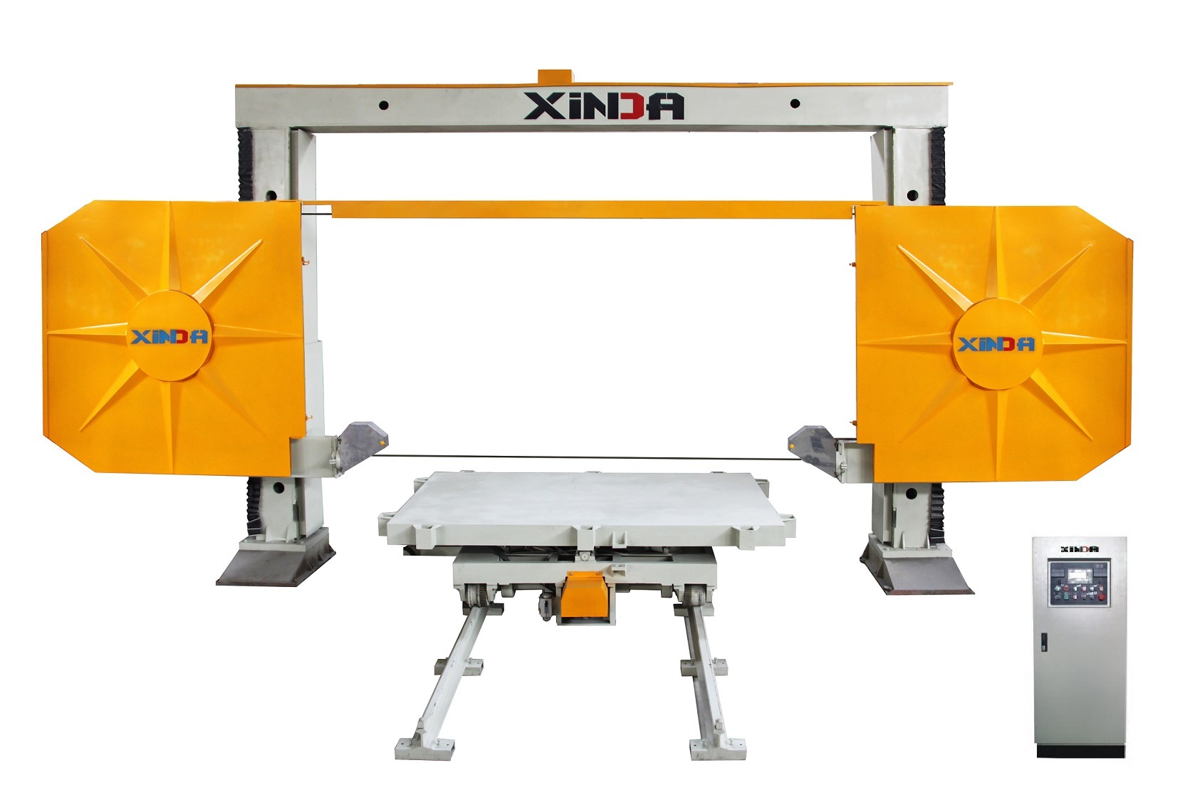 China KXJ2200 Block Trimming Mono Diamond Wire Saw Machine - China ...