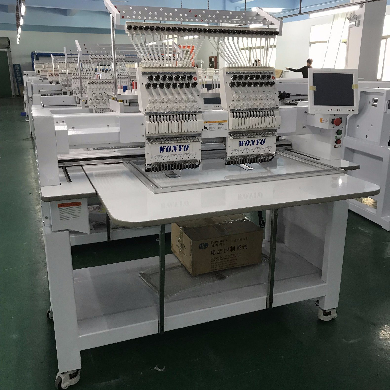 af16f7684c019 China New Model Wonyo 2 Heads Cap Embroidery Machine Parts - China ...