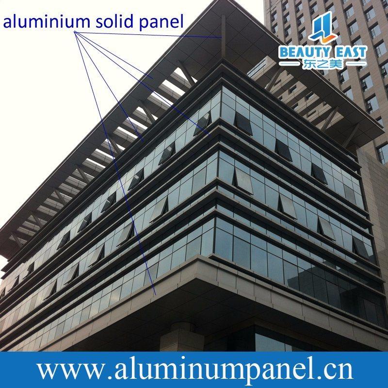 [Hot Item] Decorative Aluminum Facade Panel External Metal Cladding