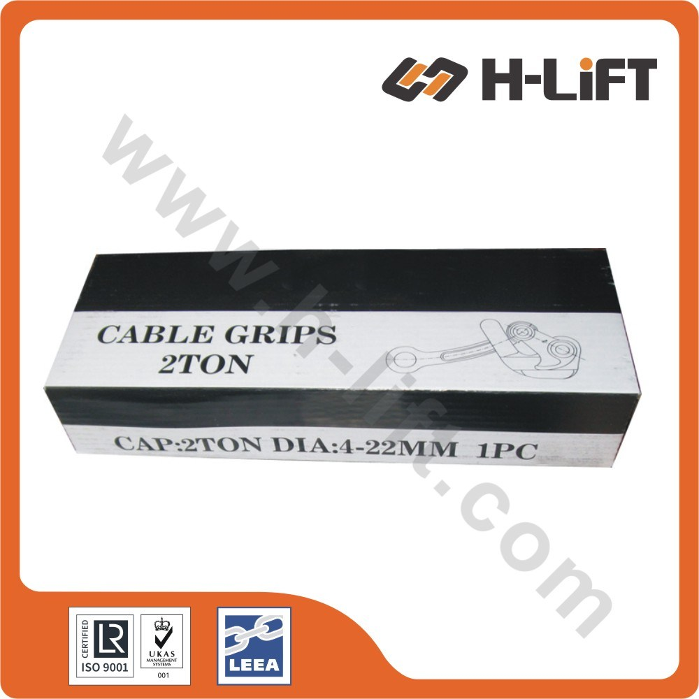 China Us Type Wire Rope Grip / Hand Puller Cable Grip Photos ...