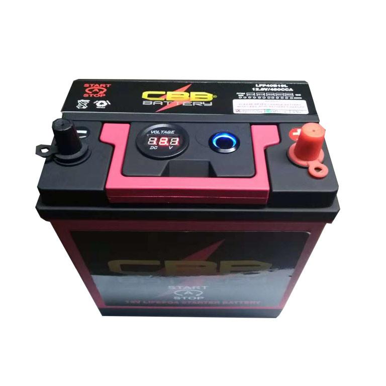 Lithium Ion Car Battery >> Hot Item 12 8v24ah Lithium Car Starter Battery Lfp40b19l Lithium Ion Car Batteries Sale