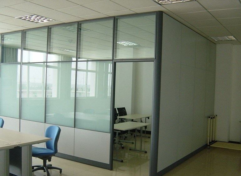 Cheap Divider Walls Modern Tempered Office Partition Glass Wall (SZ WS574)