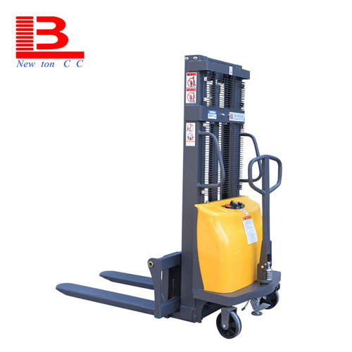 [Hot Item] 1 Ton 2ton 1 5 Ton 1 6m 2m 3m Straddle Hydraulic Hand Lift  Manual Hand Stacker Forklift with Adjustable Fork