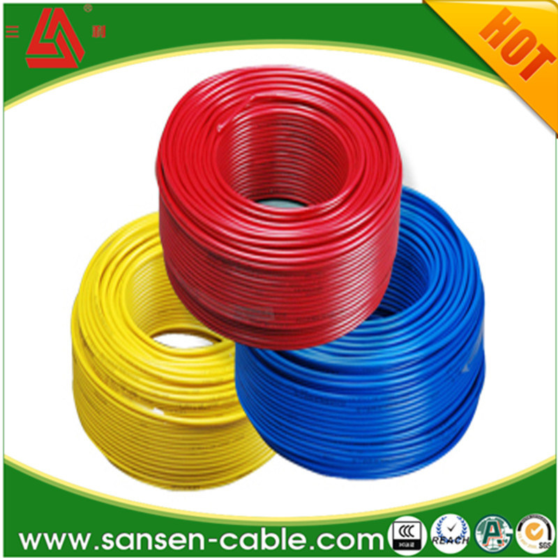 china electric wire single wire copper core ground wire bv china rh sansen cable en made in china com