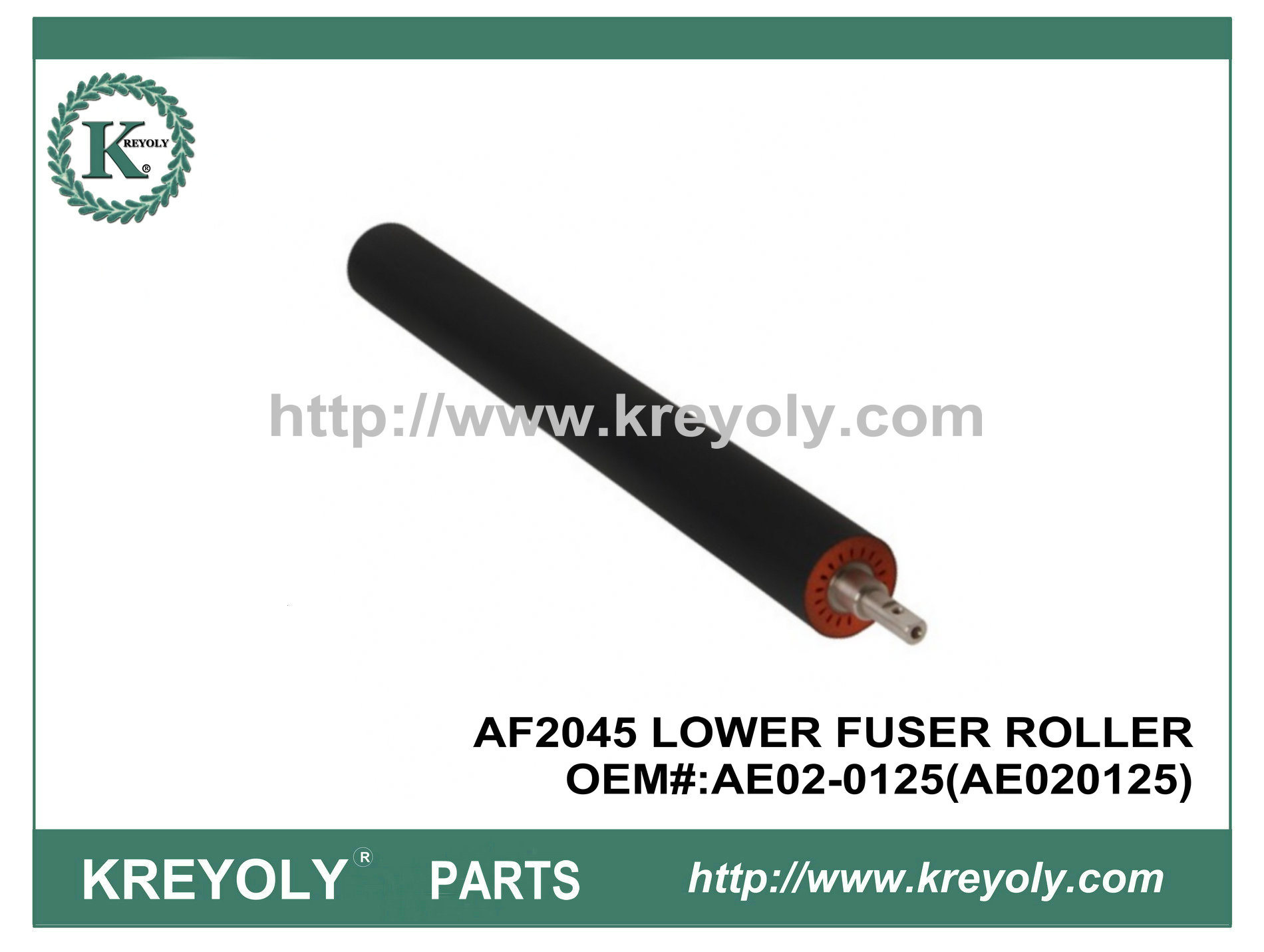 Ricoh AF2045 Lower Fuser Pressure Roller AE02-0125 (AE020125) pictures & photos