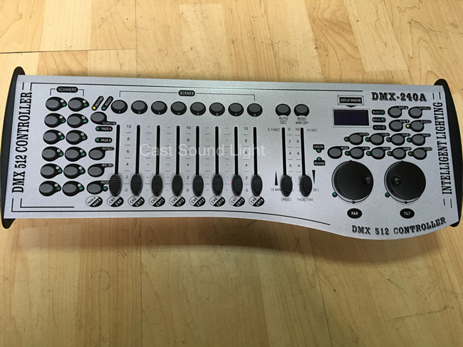 DMX512 Controller Stage Lighting 240A Console DMX Controller pictures & photos