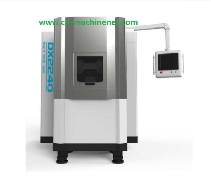 China Automatic Diamond Multi Wire Saw Machine Arc-Shaped Magnet ...