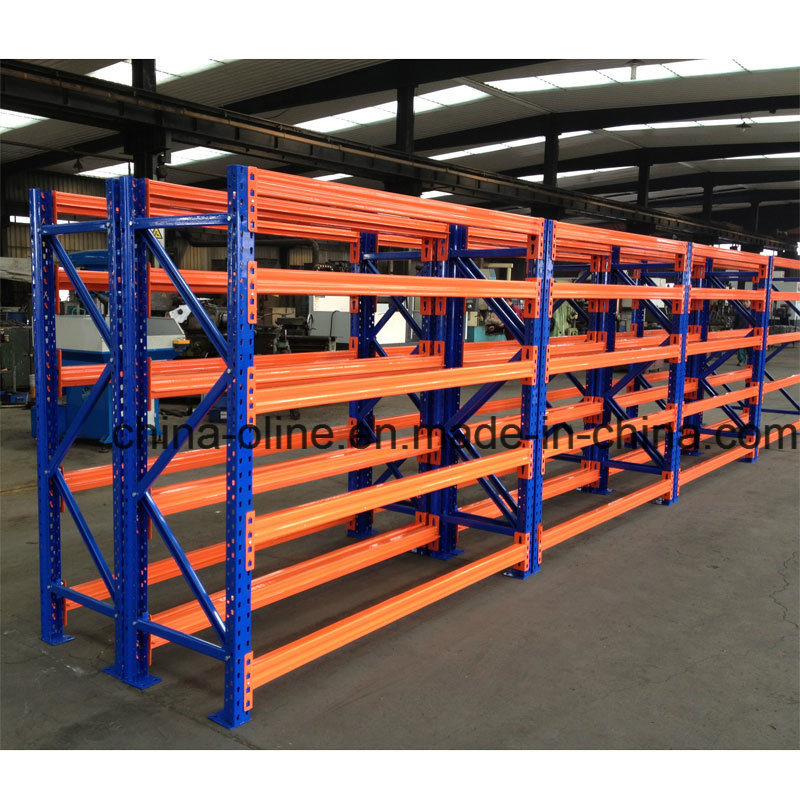 Metal Steel Assemble Adjustable Shelving Rack pictures & photos