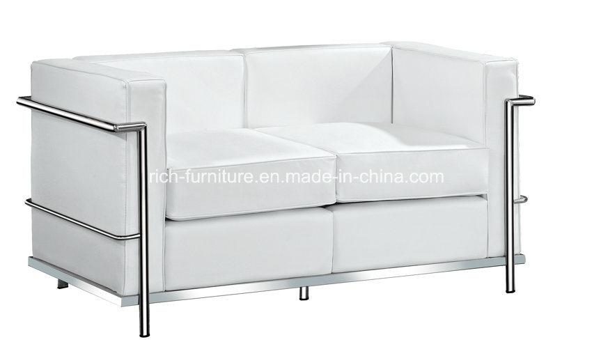 China Living Room Sofa Office Sofa Lc2 Le Corbusier Lc2 Sofa In