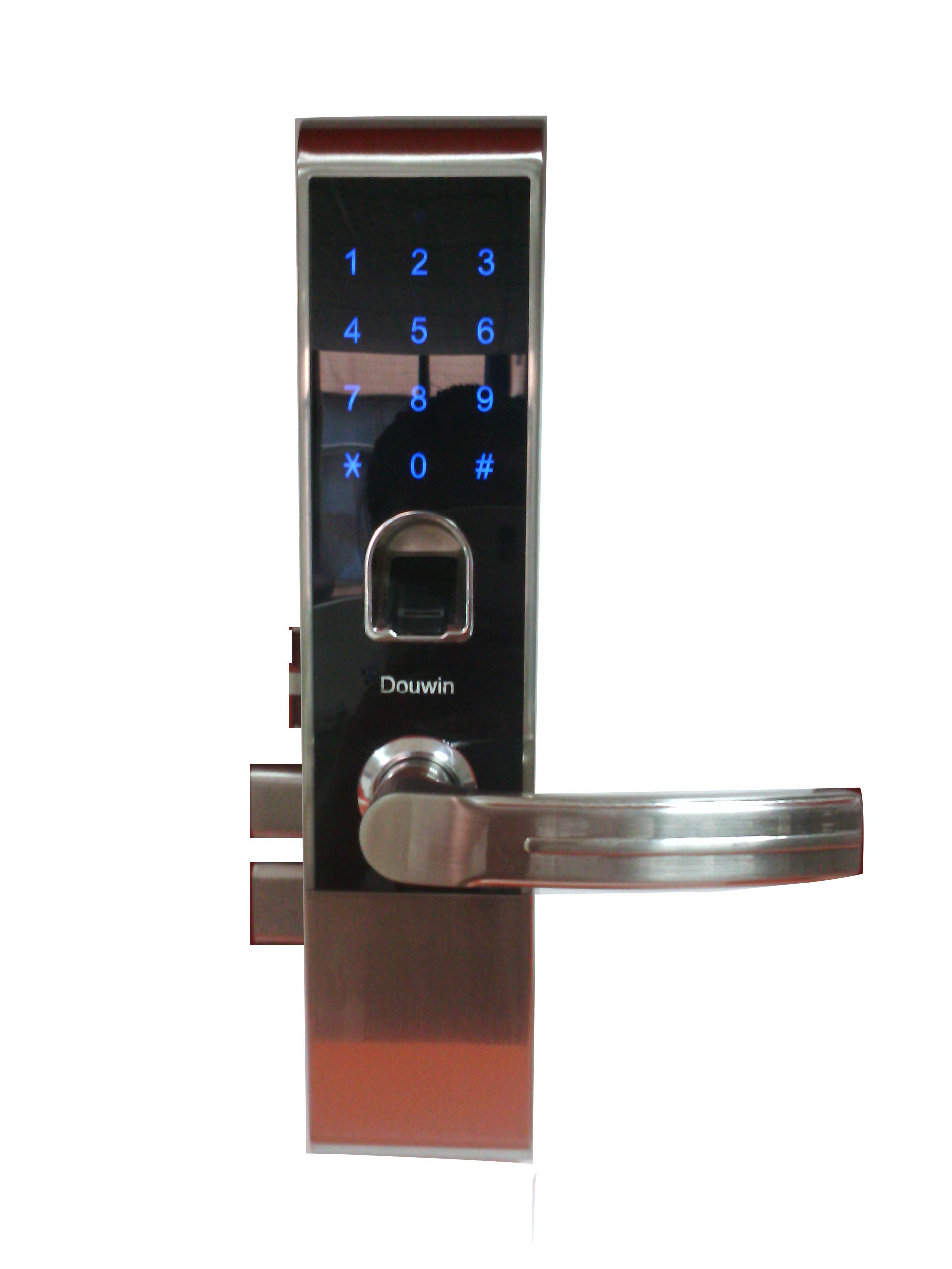index fob ez separately lockey locks lever key sold system latchbolt door electronic keylessentrylocks entry lock handle