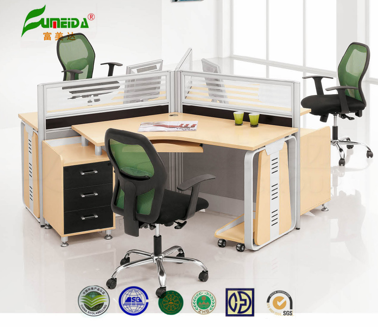 MFC Workstation High End Modern Office Table