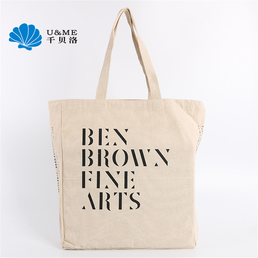 Printed Lady Cotton Canvas Tote Bag