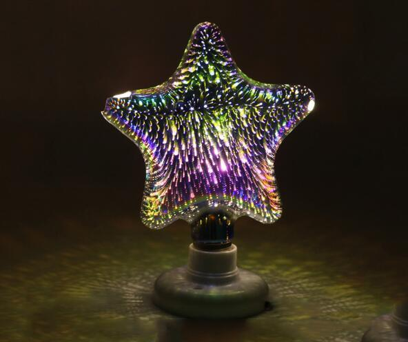 Hot Item Creative Unique Led Filament Fireworks Light