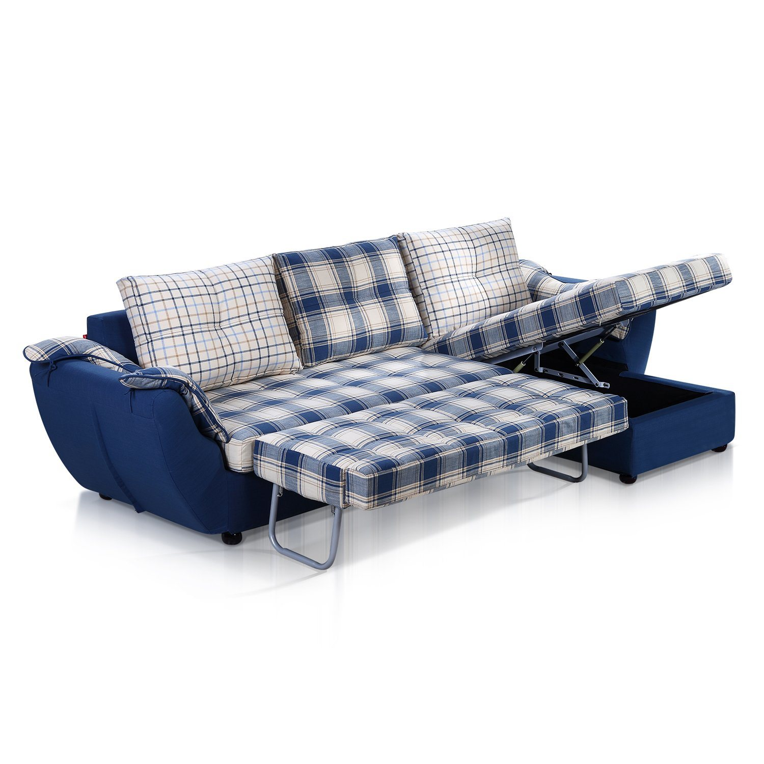 China Multi Function L Shaped Sofa Bed with Big Storage China